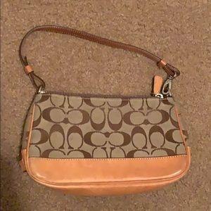 Authentic Coach purse. Slight wear and tear